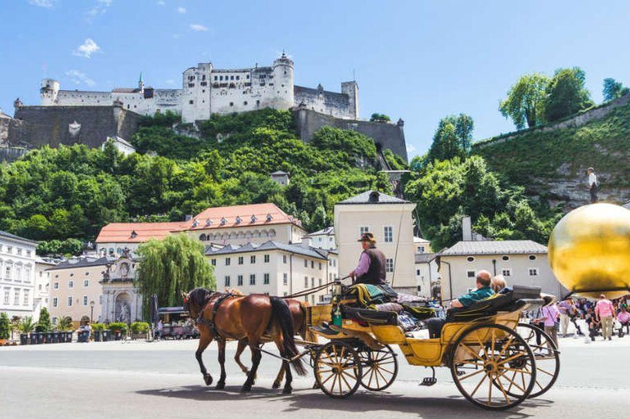 Städtereise Salzburg - Kutsche