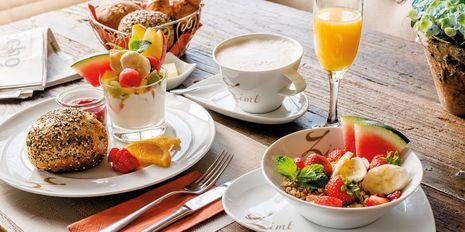 Frühstück im Bistro Café Zimt