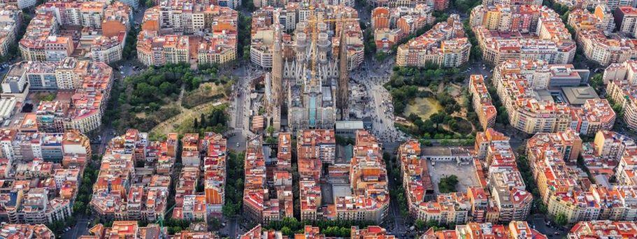 Flugreise Spanien - Barcelona