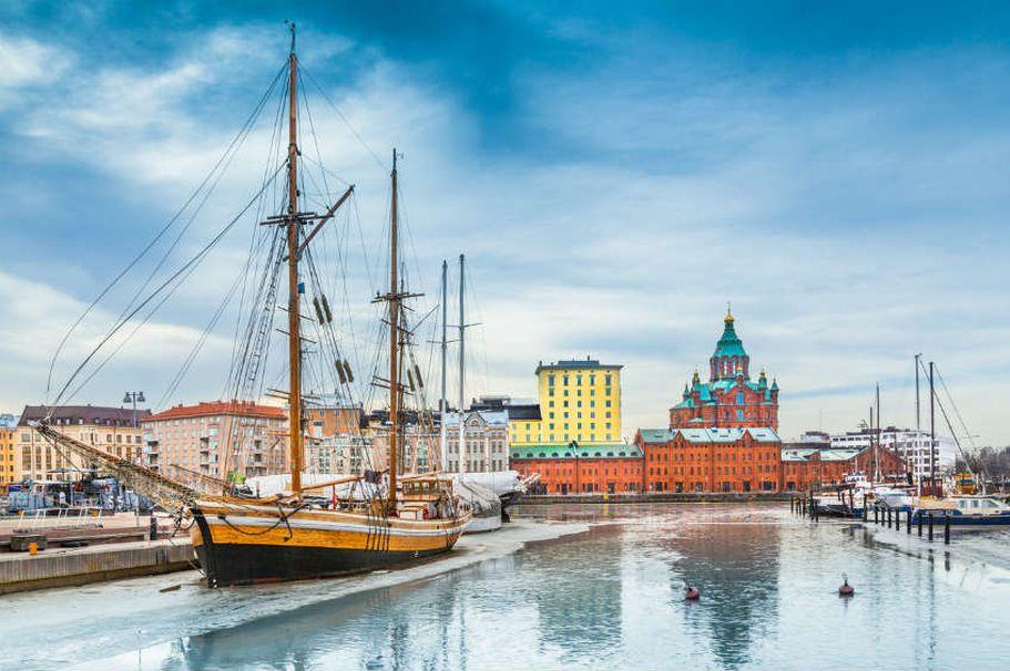 Rundreise Finnland - Hafen