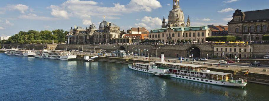 Flusskreuzfahrt Elbe und Moldau - Dresden