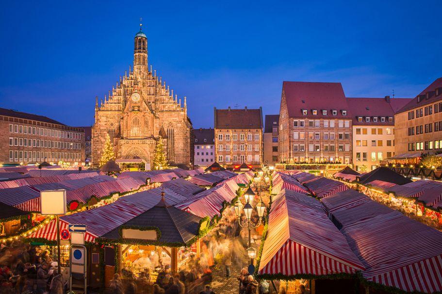 Städtereise Nürnberg - Weihnachtsmarkt