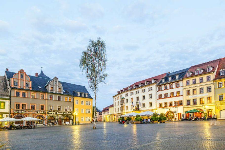 Städtereise Weimar - Marktplatz