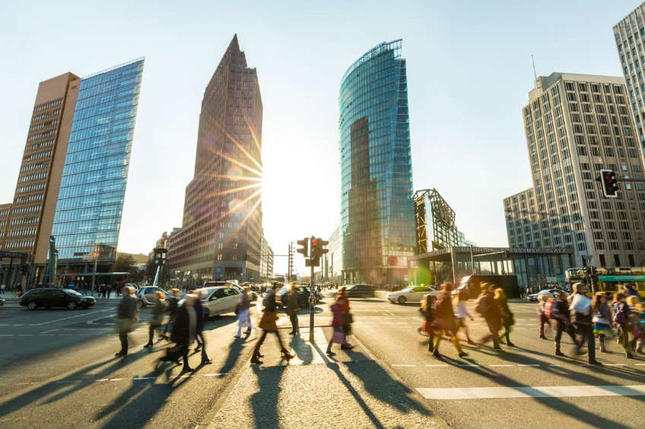 Städtereise Berlin - Potsdamer Platz
