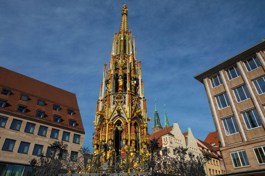 Städtereise Nürnberg - Brunnen