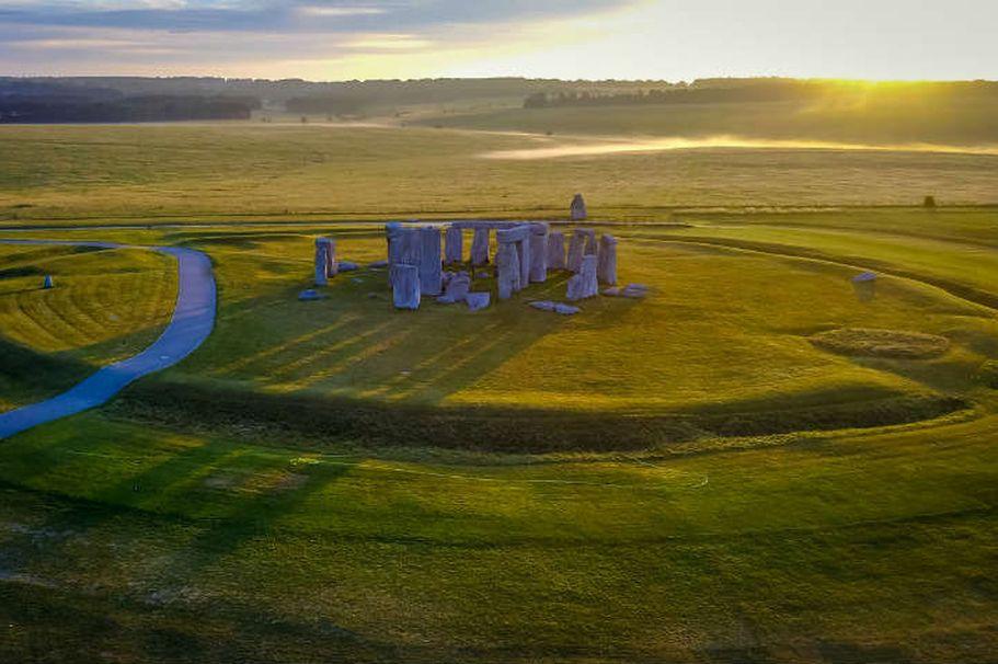 Busreise England - Stonehenge
