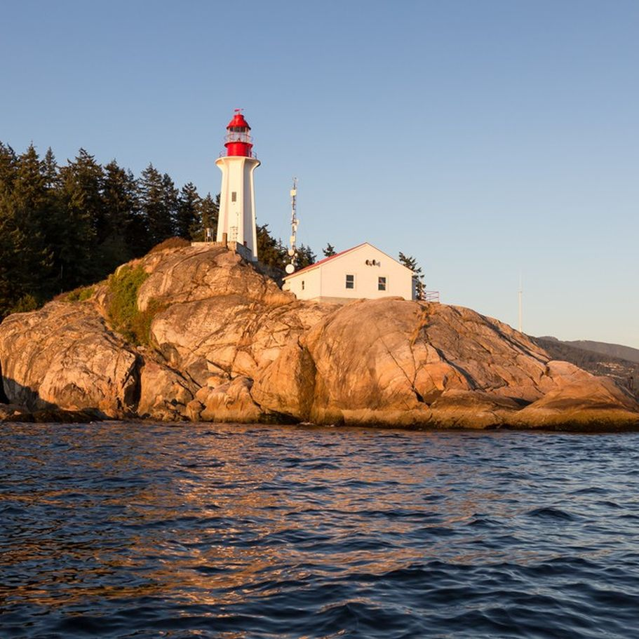 Kanada Flugreisen - Lighthouse Park