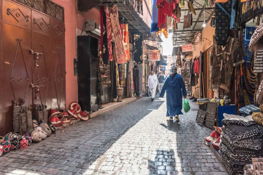 Flugreise Marokko - Suq