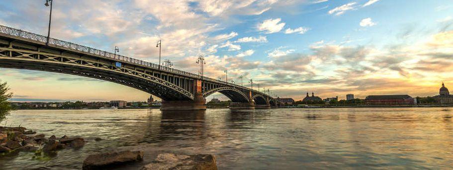 Flusskreuzfahrt Rhein - Mainz