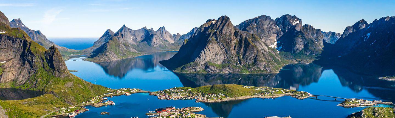 Busreise Rundreise Norween