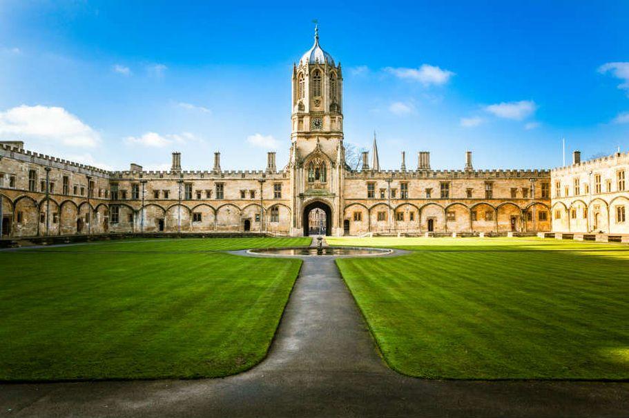 Rundreise England - Oxford College