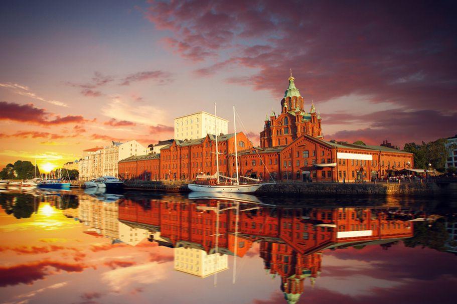 Flugreise Finnland - Uspenski Kathedrale