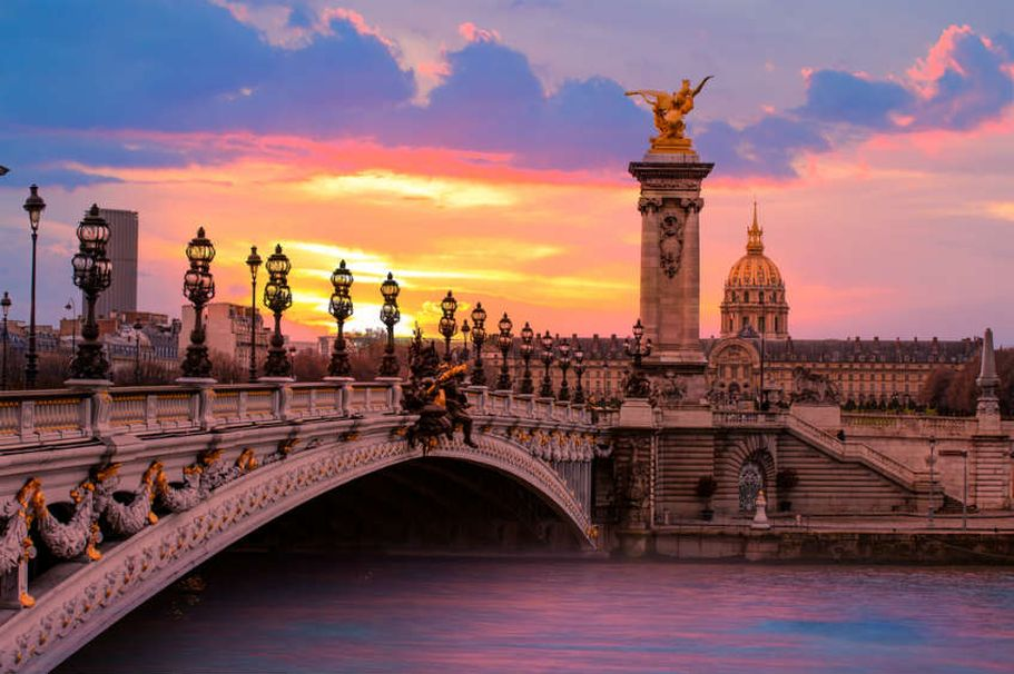 Rundreise Frankreich - Alexandre III Brücke