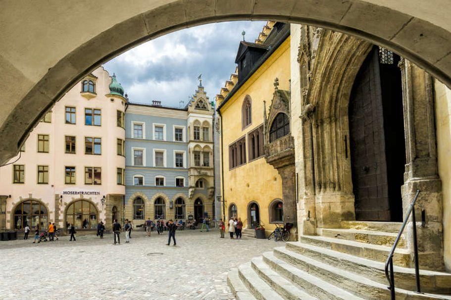 Städtereise Regensburg - Rathaus