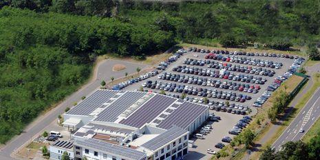 Parkplätze am STEWA Reisezentrum