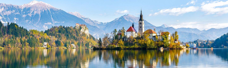 Busreise Rundreise Slowenien Bled