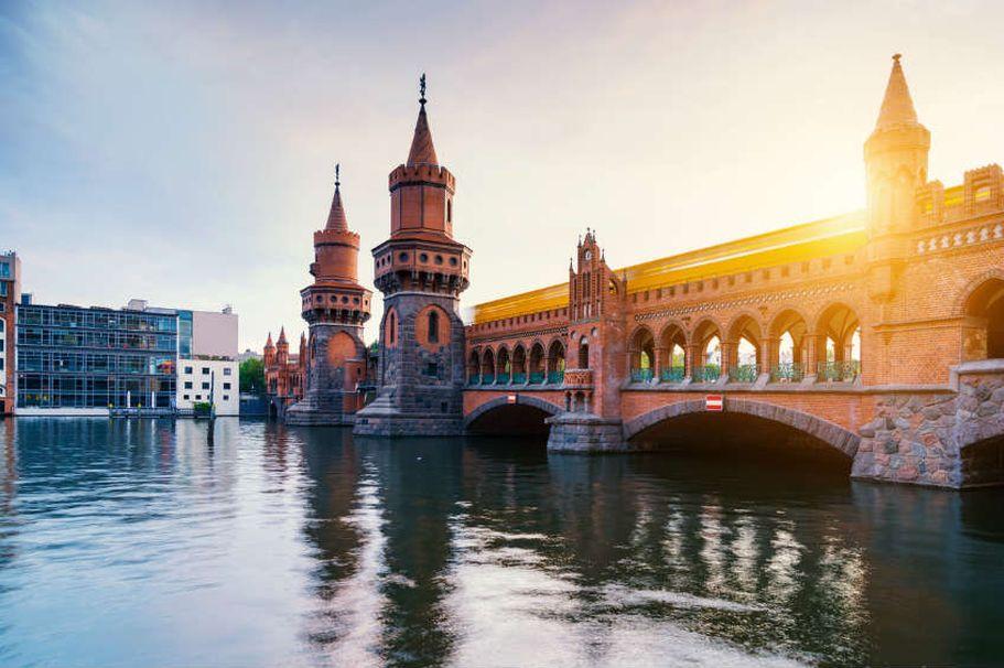 Städtereise Berlin - Oberbaumbrücke