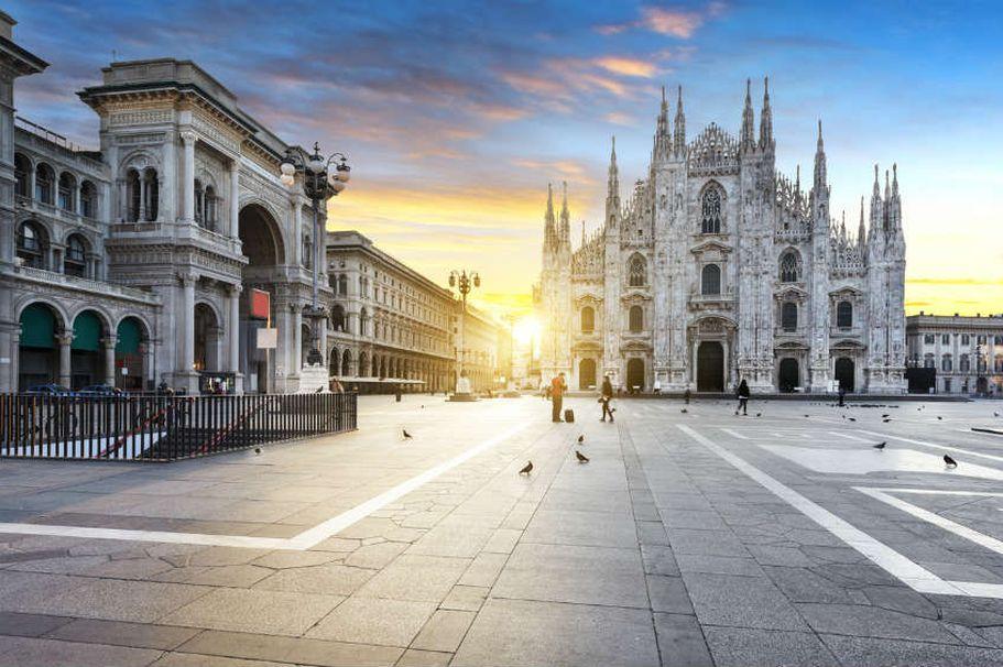 Rundreise Italien - Milano Geist