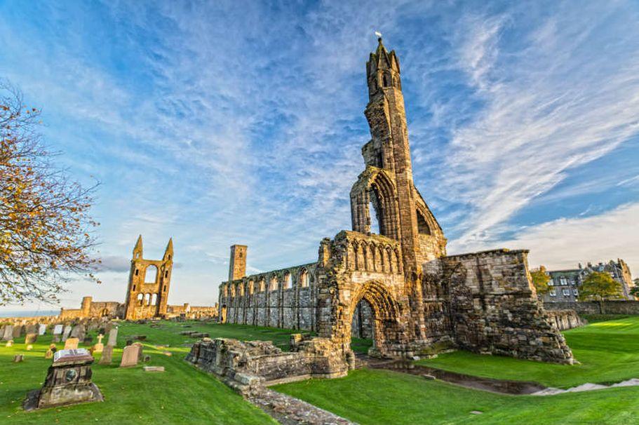 Rundreise Schottland - St. Andrews Cathedral