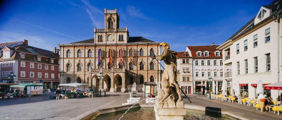Städtereise Weimar - Rathaus