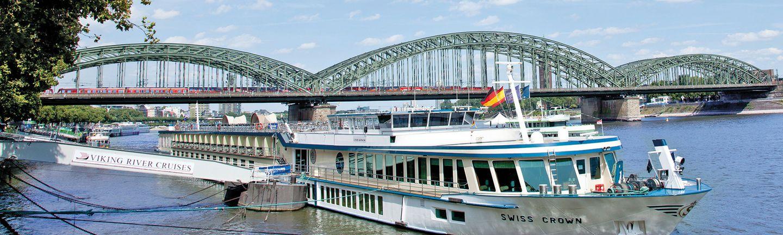 Flusskreuzfahrtschiff Swiss Crown von Scylla AG