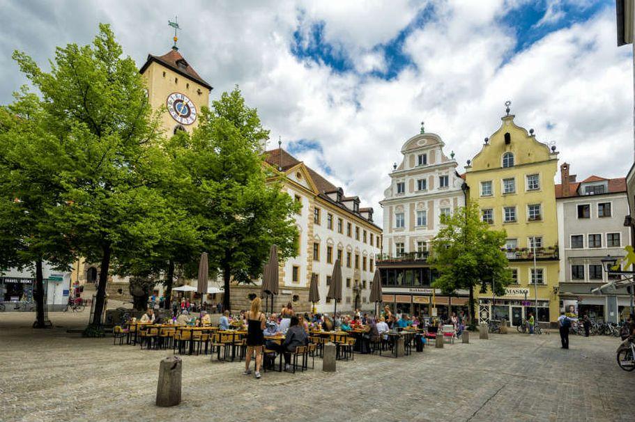 Städtereise Regensburg - Innenstadt