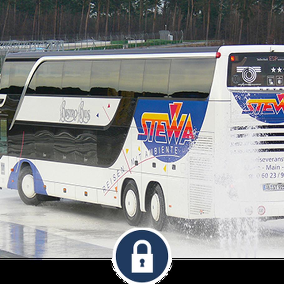 Sicherheitstraining Reisebus