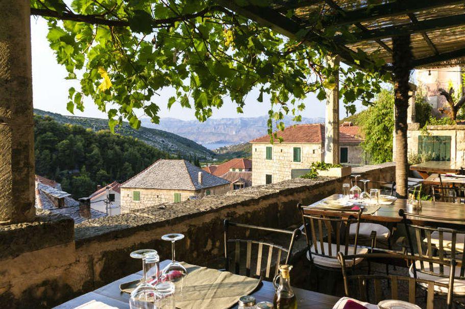 Flugreise Kroatien - Ausblick