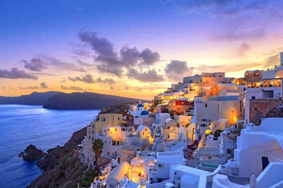 Flugreise Griechenland -  Santorini