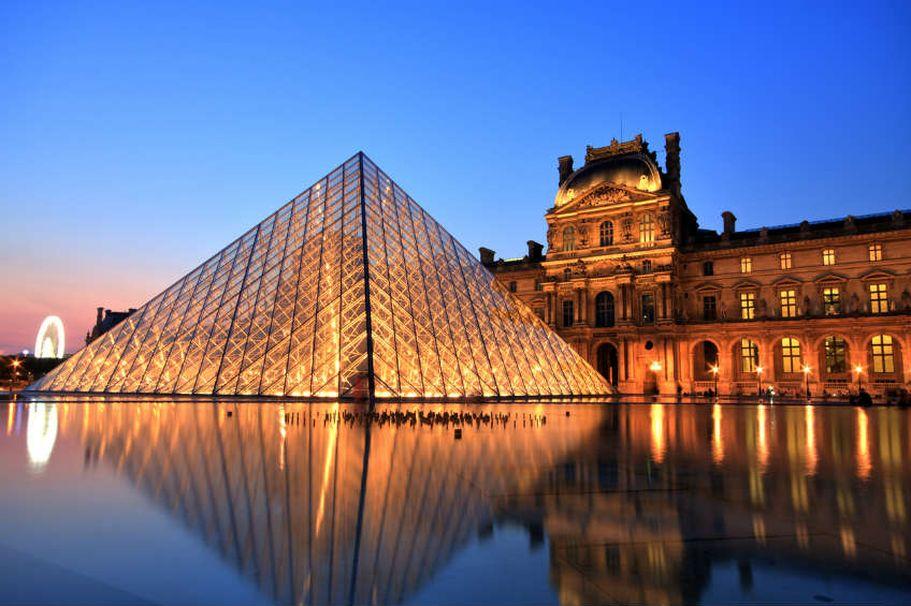 Städtereise Paris - bei Nacht