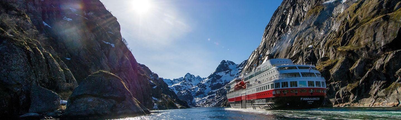Kreuzfahrten mit Hurtigruten