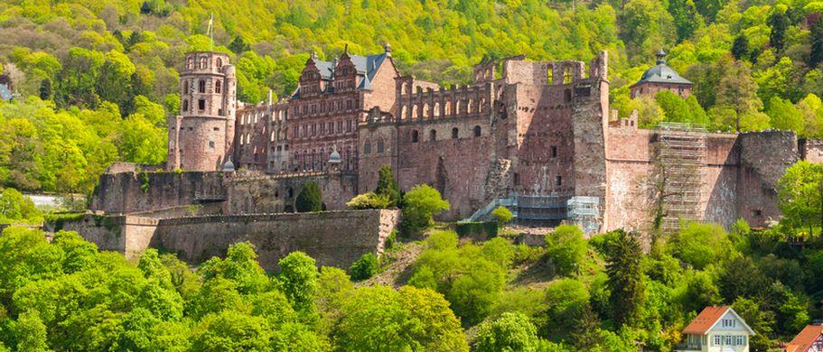 Schloesser und Burgen - Heidelberg