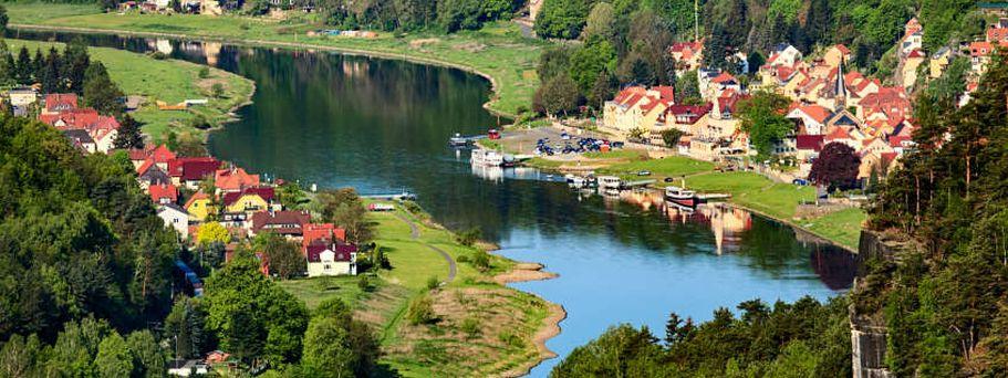 Flusskreuzfahrt Elbe und Moldau - Felsen der Bastei
