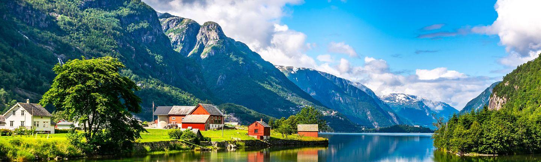 Busreise Rundreise Skandinavien Fjord