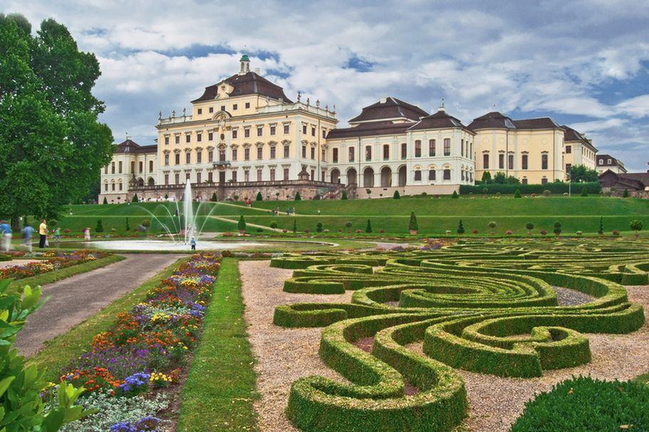 Schloesser und Burgen - Residenz Ludwigsburg