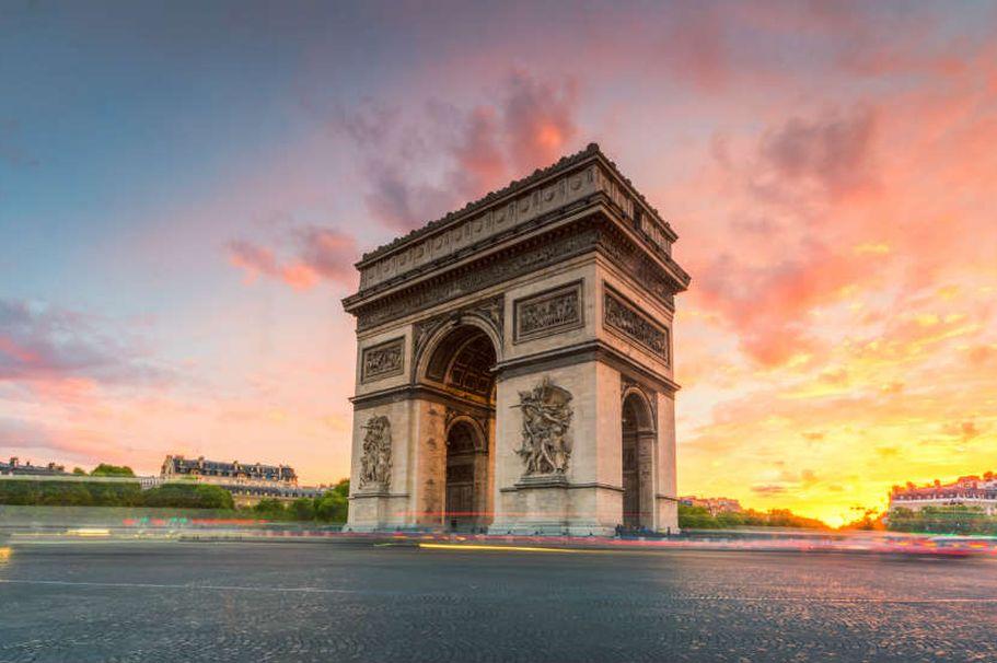Städtereise Paris - Arc de Triomphe
