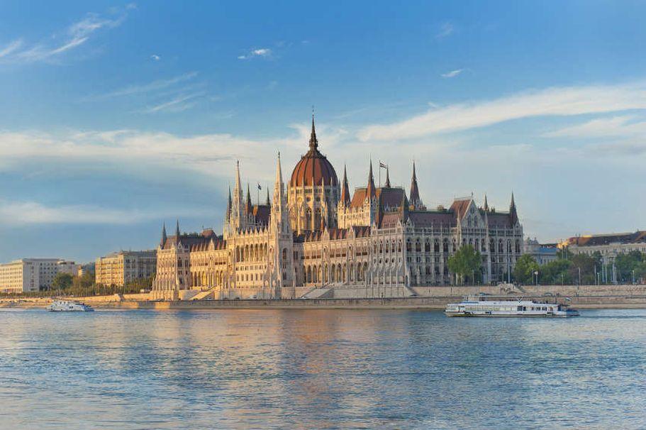 Städtereise Budapest - Parlamentsgebäude
