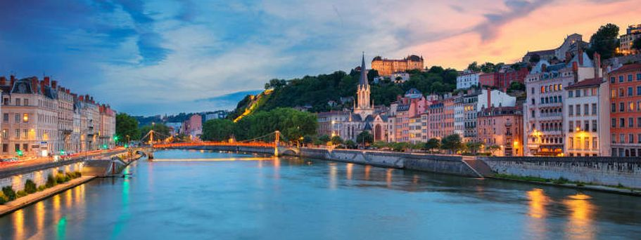 Flusskreuzfahrt Rhone - Lyon