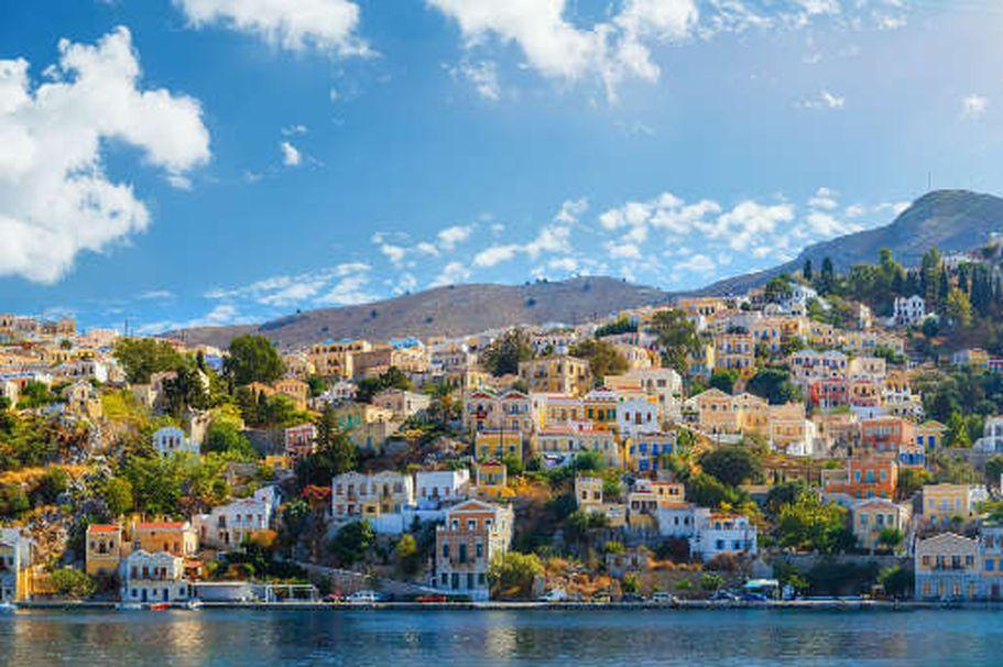 Kreuzfahrt Mittelmeer - Stadt am Mittelmeer