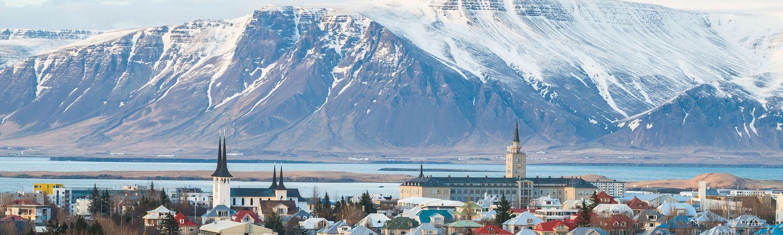 Flugreise Island Reykjavik