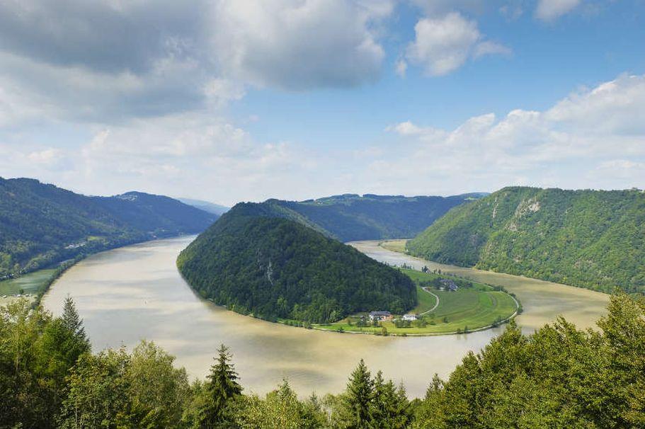 Flusskreuzfahrt Donau - Schlögener Schlinge