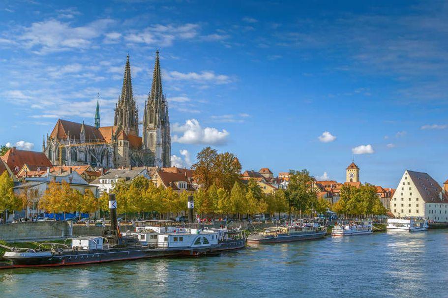 Städtereise Regensburg - vom Wasser aus