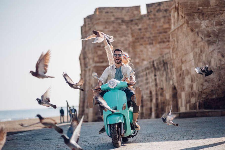Flugreise Griechenland - mit dem Mofa unterwegs
