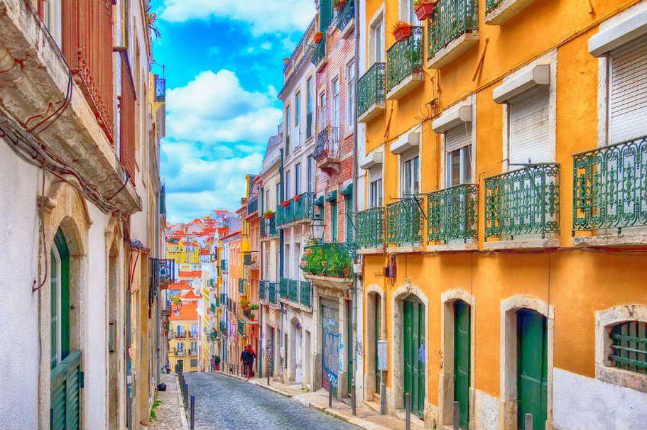 Flugreise Portugal - Lissabon