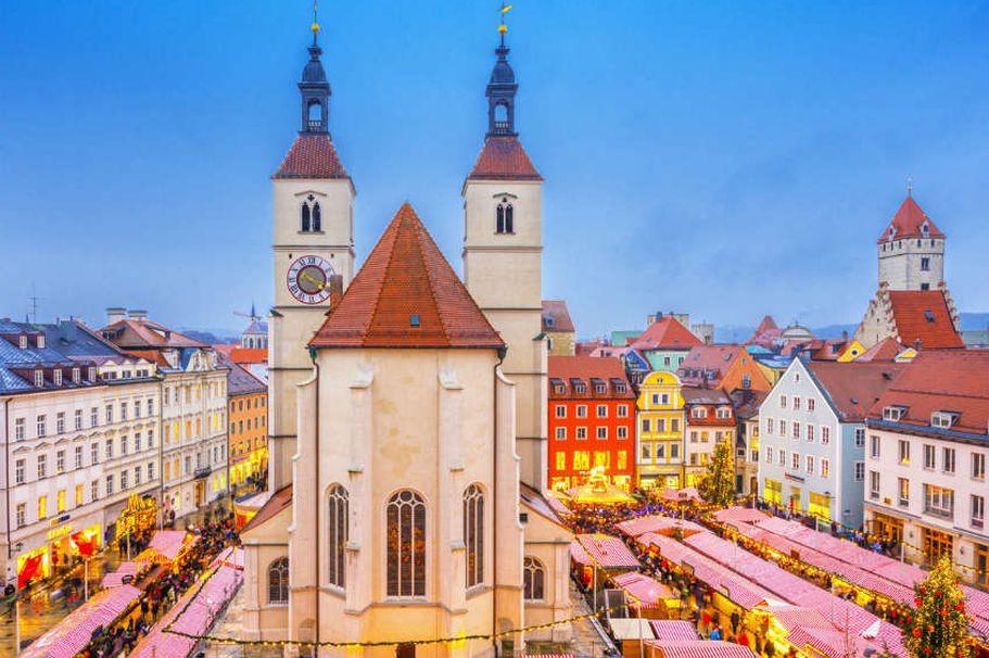 Städtereise Regensburg - Regensburg Weihnachtsmarkt