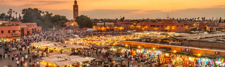 Flugreise Marokko Marrakesch