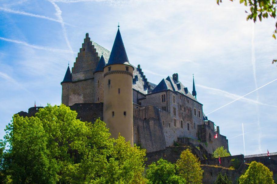 Städtereise Luxemburg - Burg Vianden