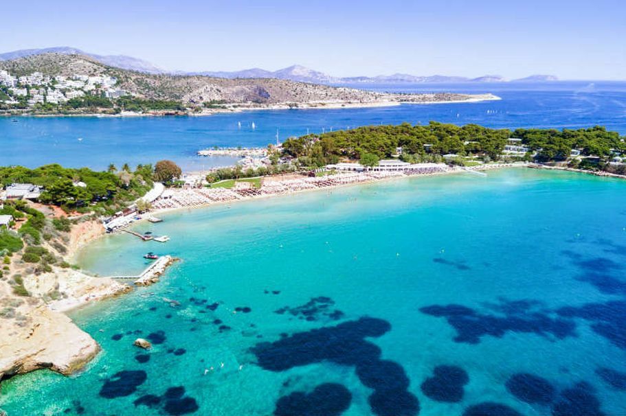 Flugreise Griechenland -  Bucht