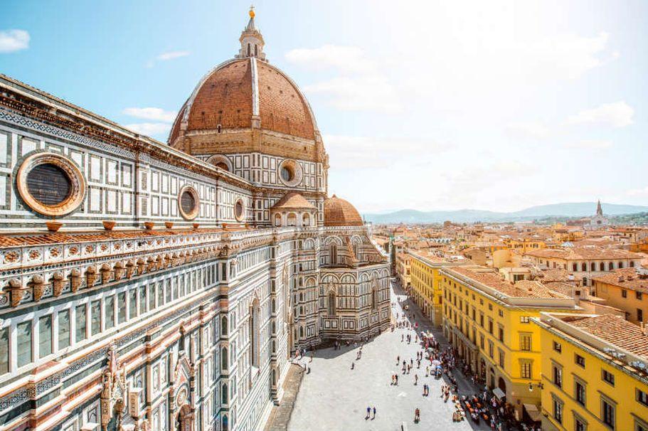 Flugreise Italien - Florenz