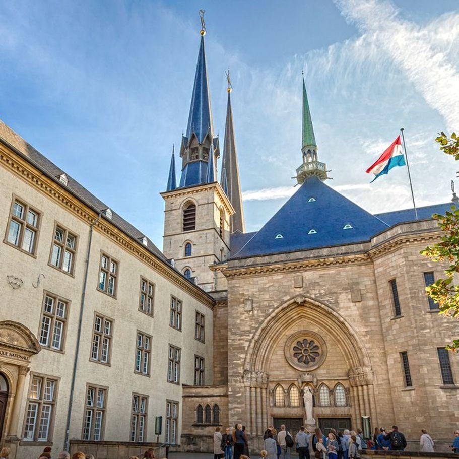 Städtereise Luxemburg - Notre Dame Luxembourg